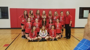 CMS Volleyball Team Going to STATE