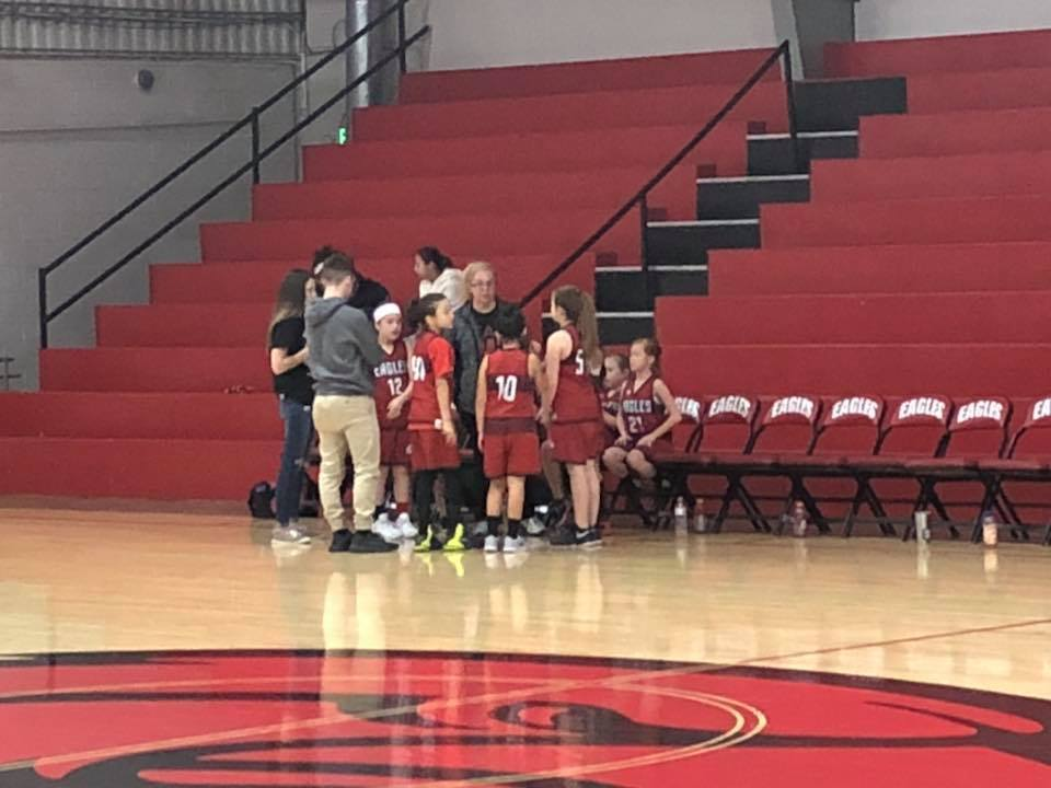 Congratulations to our 3rd Grade girls for their win over Ouachita!
