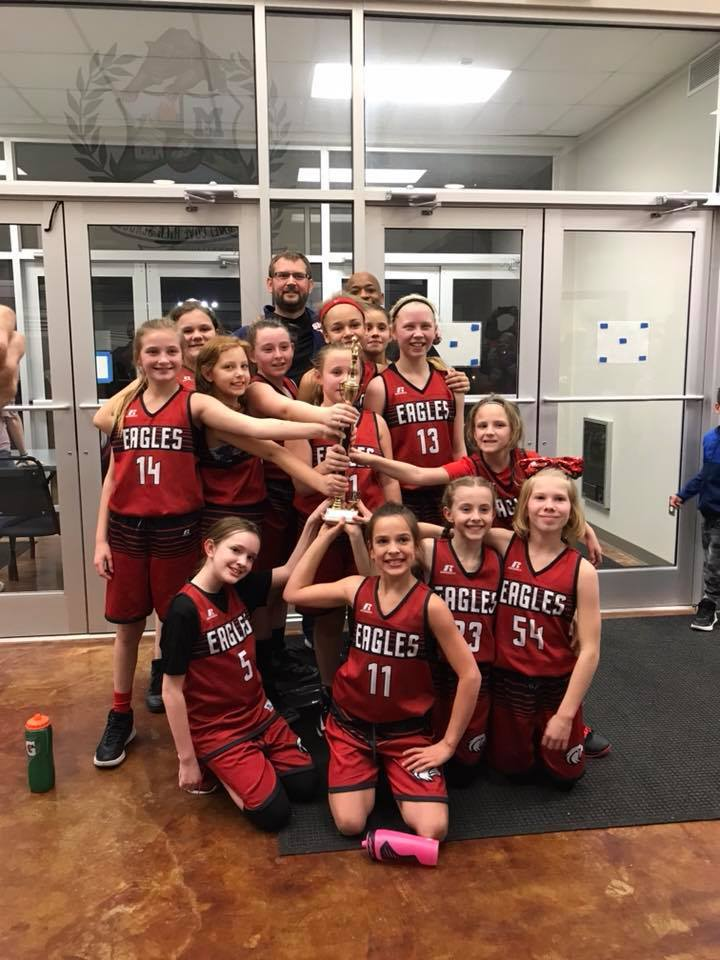 5th Grade Champs! Way to go Girls!