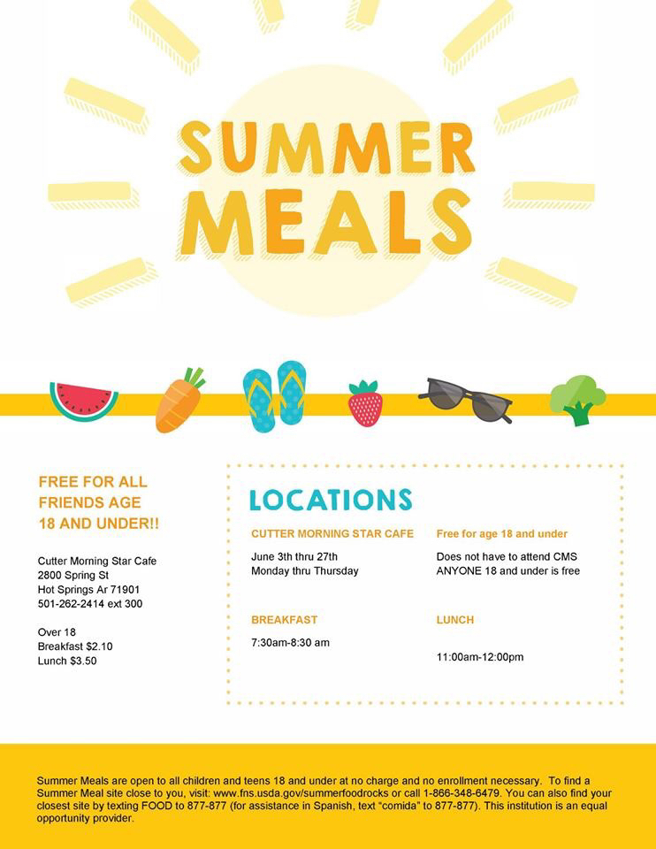 Summer meals start today!