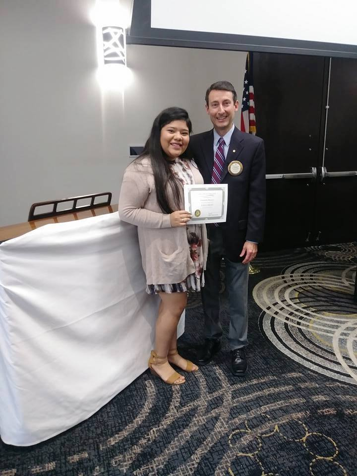 Congratulations to our Esmeralda Ramirez, An Oaklawn Rotary $1000 Scholarship recipient!