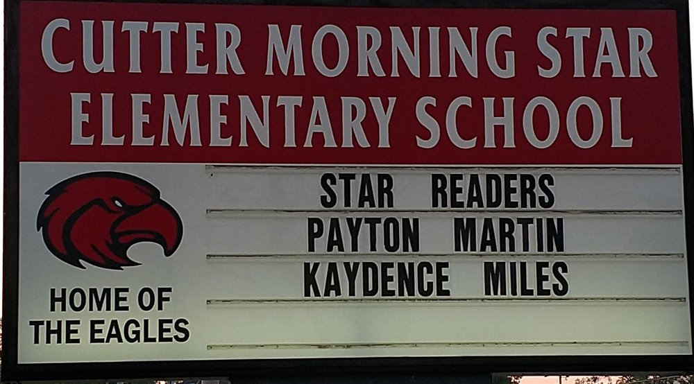 Check out our Star Readers!