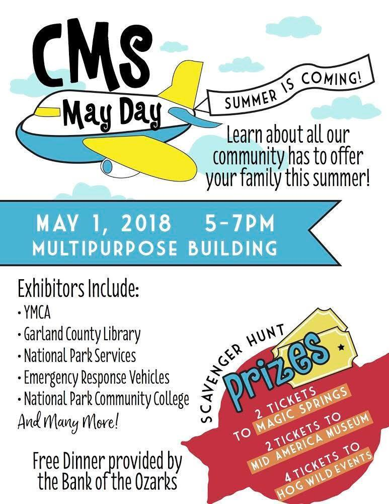Reminder: CMS May Day is today