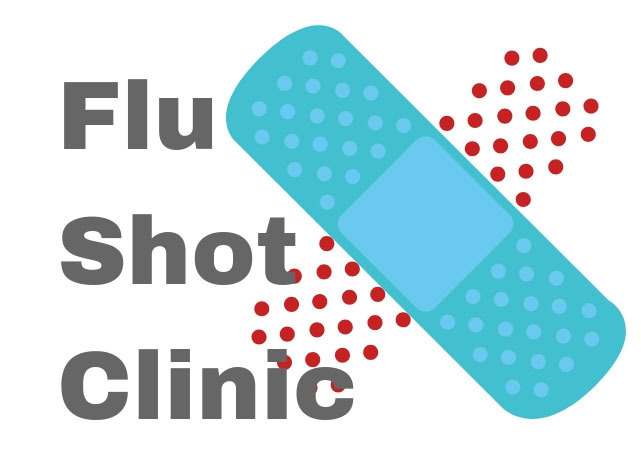 Reminder: CMS free flu clinic will be held on campus on Wednesday, October 30th.