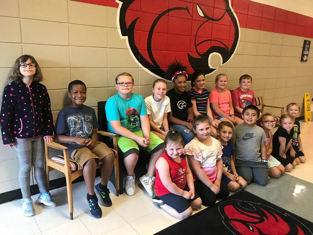 Congratulations to the CMS Elementary Students of the Month for September.