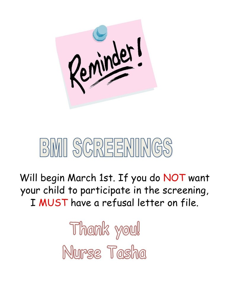 BMI SCREENINGS