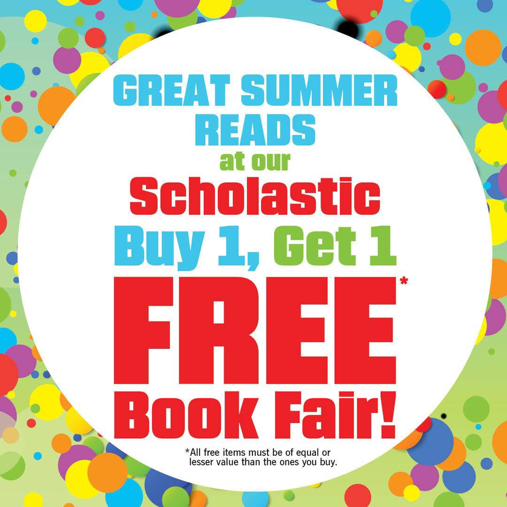 BOGO Book Fair Starts Monday