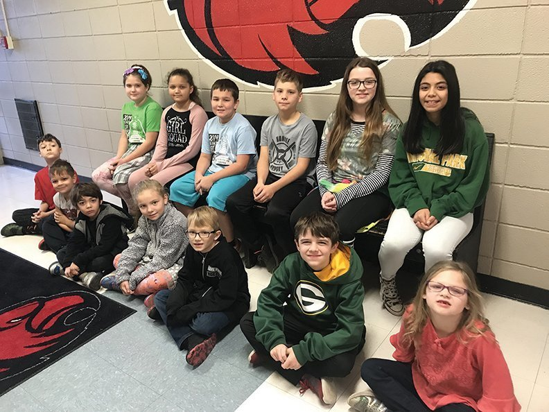 CMS Elementary Students of the Month