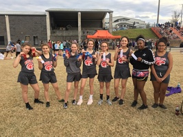 7th Grade Girls Track Team