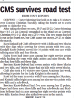 CMS vs. Conway Christian (paper)