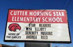Check out CMS Elementary Star Readers!