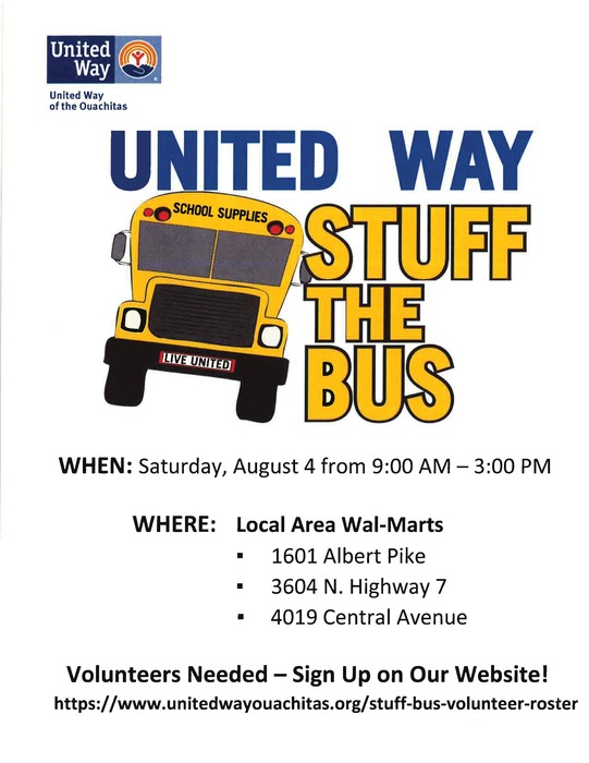 Stuff the bus location