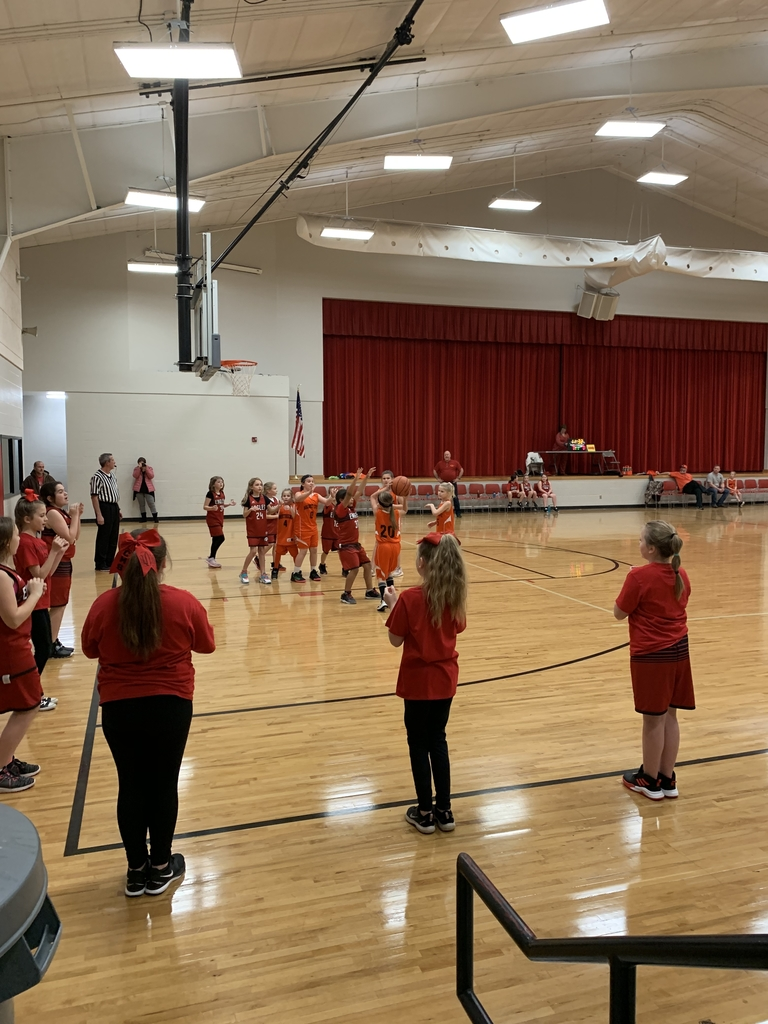 Third grade girls basketball