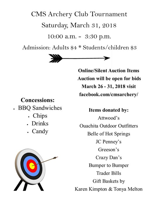 CMS Archery Club Tournament