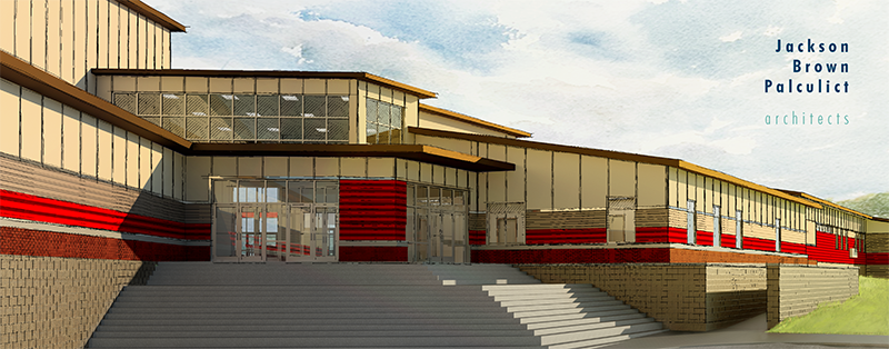 New High School Rendering