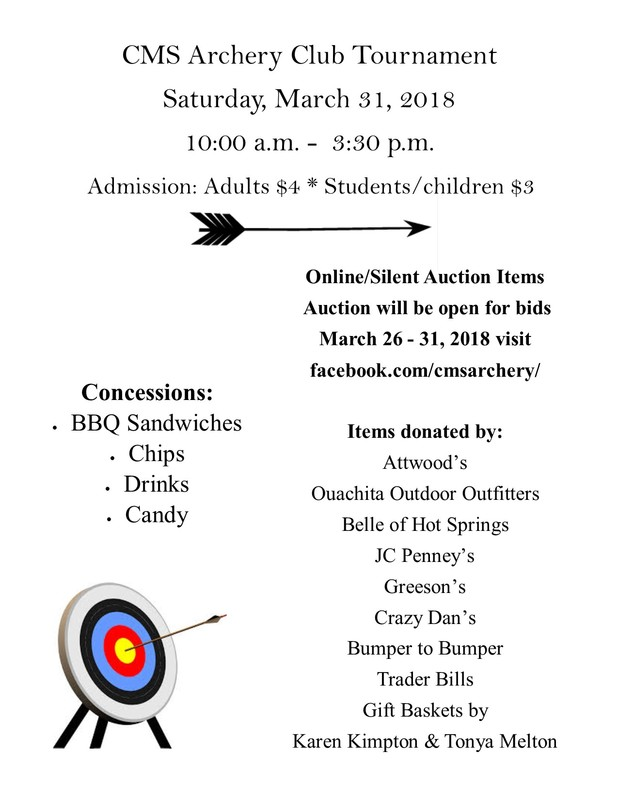 Archery Tournament/Silent Auction